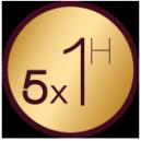 Pack de 5 Massages Relaxants aux Huiles (5 x 1 heure)
